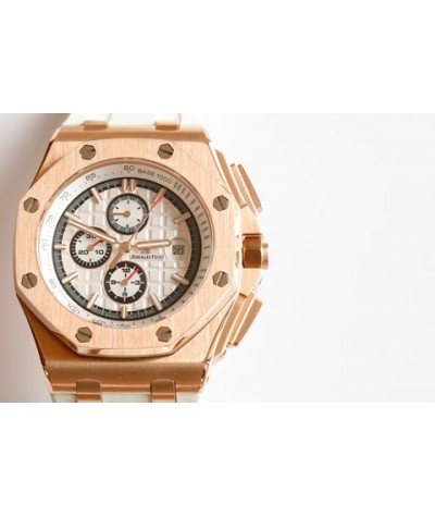 Audemars Piguet               Royal Oak Offshore limited multi-function mechanical watch, size: 44mm13mm, equipped with original 3126 full-automatic mechanical movement, anti glare processing, sapphire crystal glass, imported 316 jinggangxin case, importe