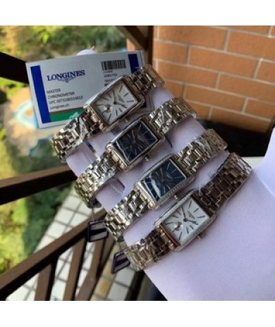 Longines brand new blue dydrovina series exquisite two and a half pin women's wristwatch high-end configuration with precision imported quartz movement arch sapphire glass imported cow leather / 316 steel strap, diameter 30   21mm, thickness 7mm Natural