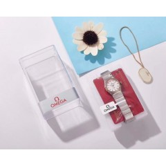 185 product brand new Omega Constellation series women's Quartz wristwatch provides you with the most perfect, high-quality and affordable love token for Qixi               [movement] 185 factory adopts quartz movement imported from Switzerland at great e