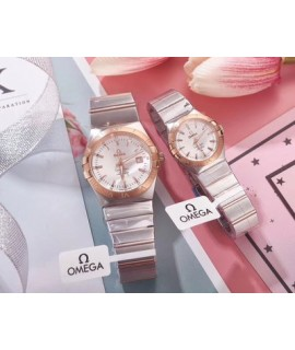 185 produce brand new Omega Constellation series lovers quartz wristwatch provides you with the most perfect, high quality and affordable love token for your happiness               [movement] 185 factory adopts quartz movement imported from Switzerland a