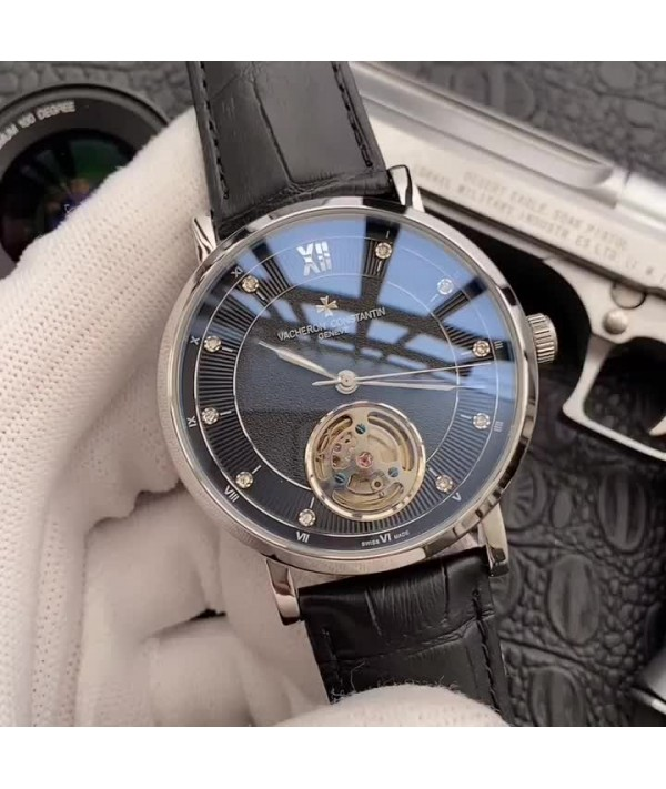 brand: Constantine                type: 3-pin flywheel popular men's Watch                strap: genuine cow leather / 316 steel strap                movement: Top automatic mechanical movement                mirror: mineral super mirror