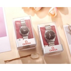 185 produced, Omega diefei series lovers xitecheng mechanical wristwatch on schedule, for your happiness to present a precise, eternal love gift               [movement] equipped with 185 produce, it focuses on the original 821a automatic mechanism moveme