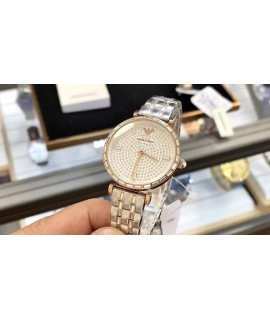 (the highest quality original order goods, official synchronization original factory membrane, original factory standard, support scanning code inspection, one table one code)               Brand: Armani Armani               Type: Women's Watch